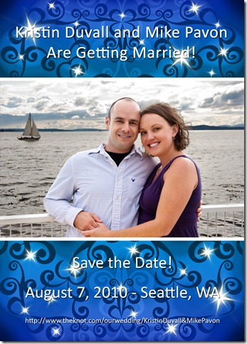 Kristin & Mike Save The Date